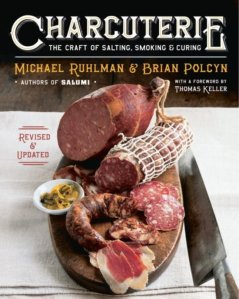 Book Cover: Charcuterie The Craft of Salting, Smoking, and Curing - Ruhlman & Polcyn