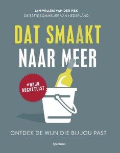 Boek Cover Dat Smaakt naar Meer -  Van der Hek