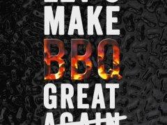 Kookboekenweek 2018 – Meneer leest een boek – Let's make BBQ great again – Jeroen Wesselink