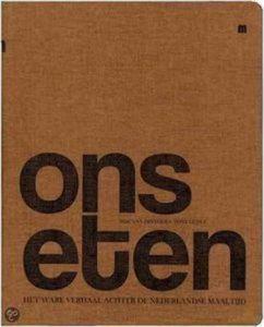 Boek Cover Ons Eten - Van Dinther
