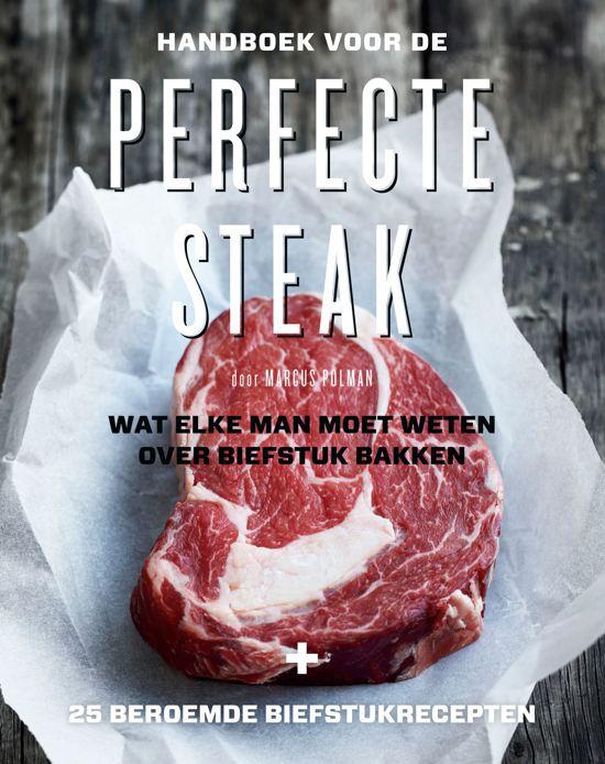 Boek Cover Handboek voor de perfecte steak - Polman