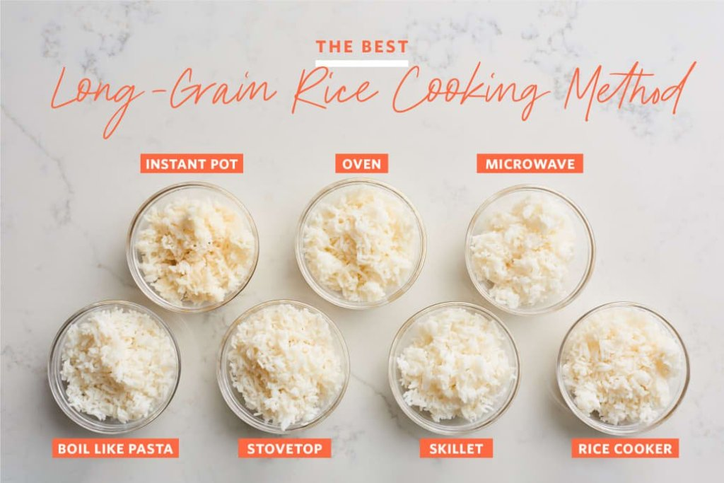 7 manieren om rijst te koken, met een verrassende winnaar