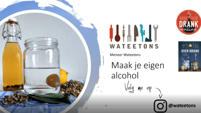 Wateetons workshop 'alles over alcohol' – on demand