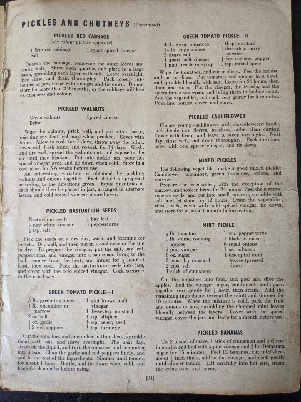 Fermentatierecepten uit de oude doos