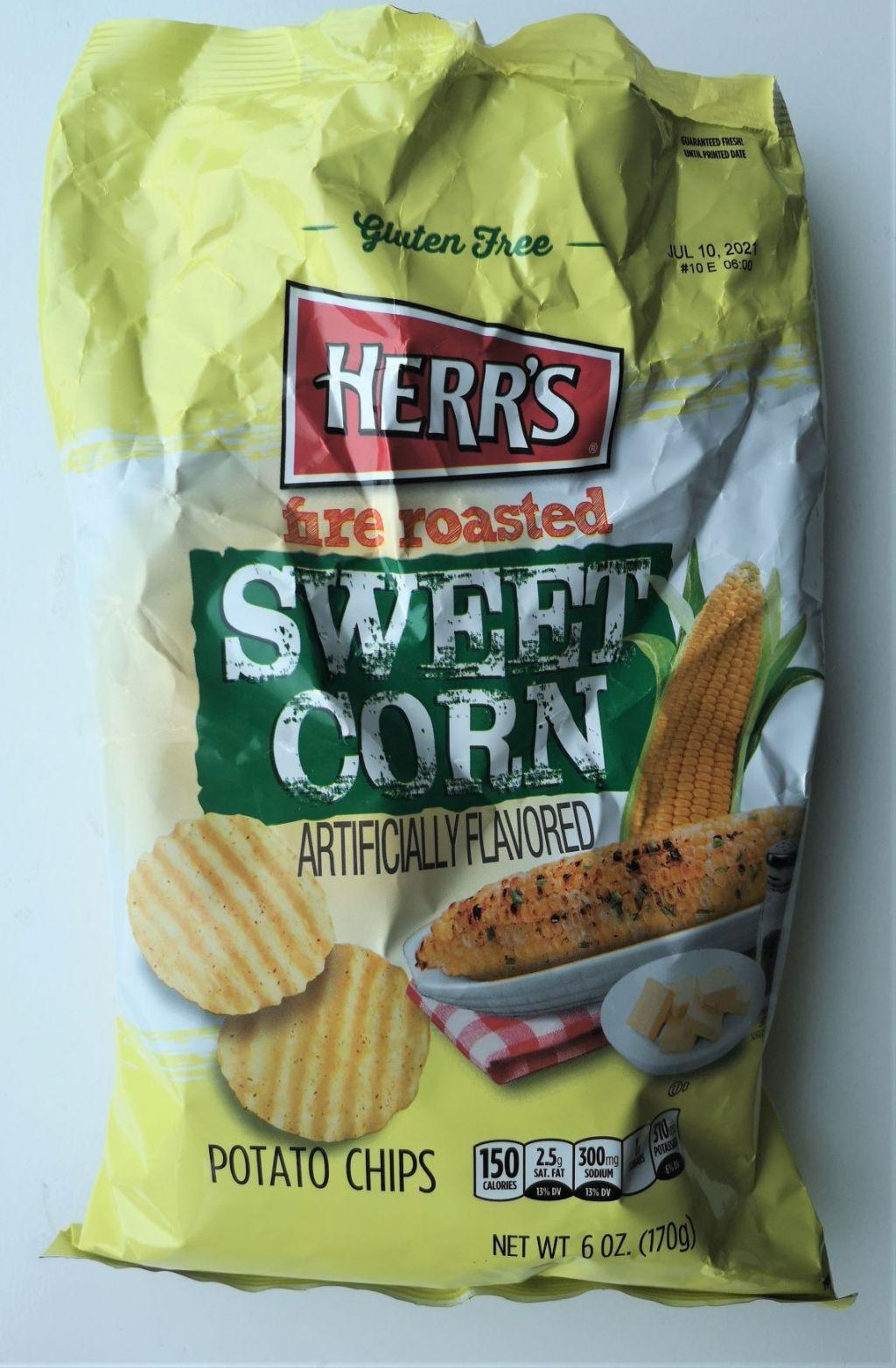 Chips van de Week: review Herr's Fire Roasted sweet corn