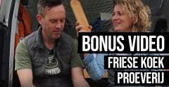 Bonusvlog: proeverij 4 Friese koeken