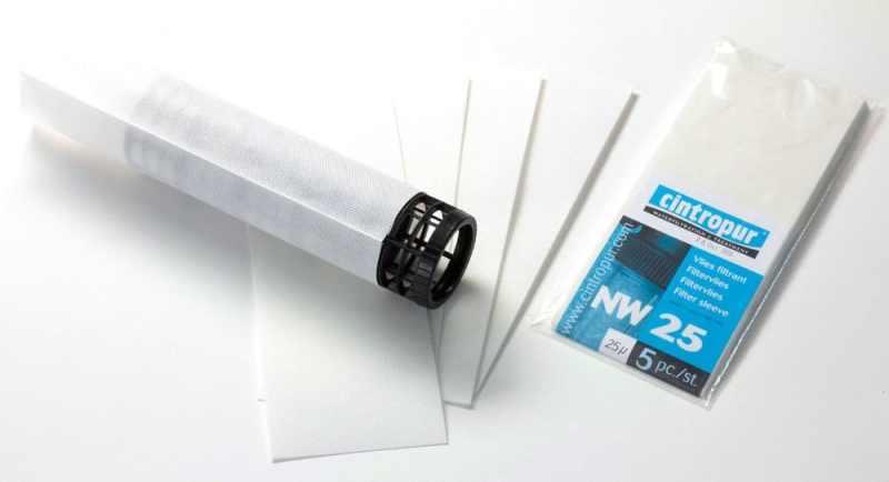 Cintropur NW25 сменные мешки 5шт 25мкм