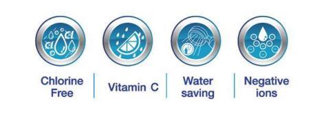 Alege Ultra pHreshed filtru apa (calda si rece) dus cu vitamina C si cap dus cu placa ionizanta !