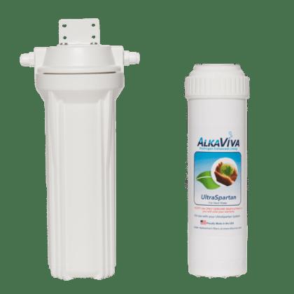 prefiltru apa dura AlkaViva UltraSpartan - cu carcasa filtre apa externa