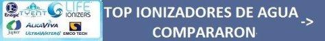 top ionizadores de agua comparación