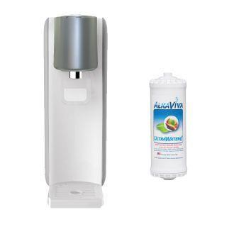 ULTRA AlkaViva Ionpia H2 Wasser Reiniger- Generator mit molekularem Wasserstoff - 2 Wasserfilter & UltraWater wasserfilter