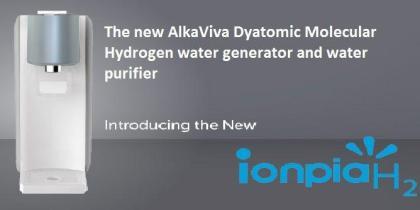[:ro]AlkaViva Ionpia H2 - generator apa hidrogen diatomic molecular [:en]AlkaViva Iopia H2 Molecular Hydrogen water generator and water purifier