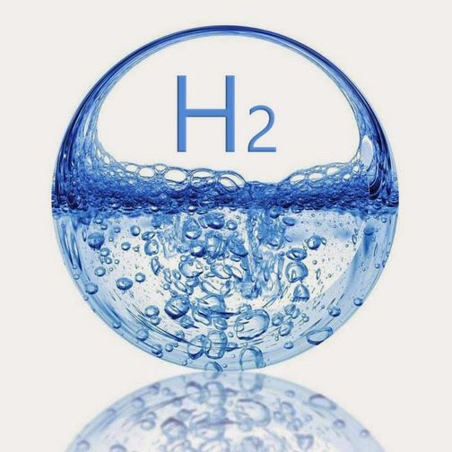 diatomic molecular hydrogen waterbubbleandH2