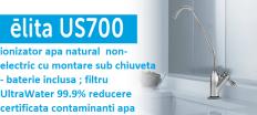 filtru aparat apa hidrogenata / ionizator apa natural non electric sub chiuveta AlkaViva Elita US 700