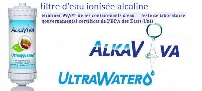 filtre d'eau ionisée alcaline UltraWater