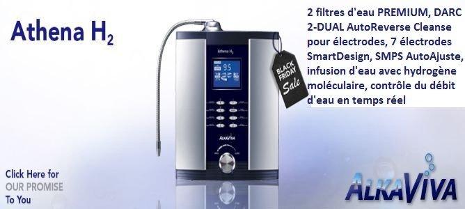ioniseur d'eau Athena H2