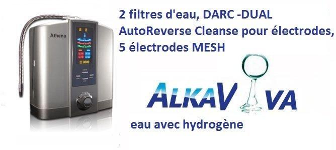 ioniseur d'eau Athena JS 205 générateur d'eau avec hydrogène