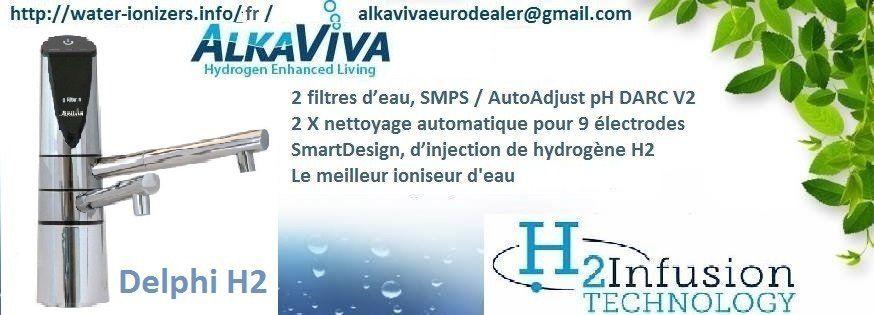SURVIVAL Purificateur d/'Eau H20 CT 4.0 supprimer les bactéries et Fluorure de l/'eau potable