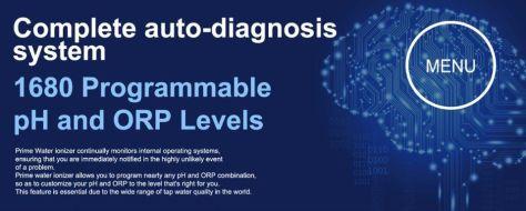 Sistemul AutoDiagnosis PRIME 901R apa ionizata
