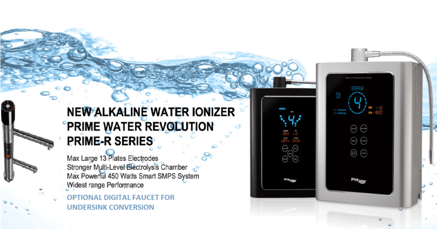 PRIME R WATER IONIZERS