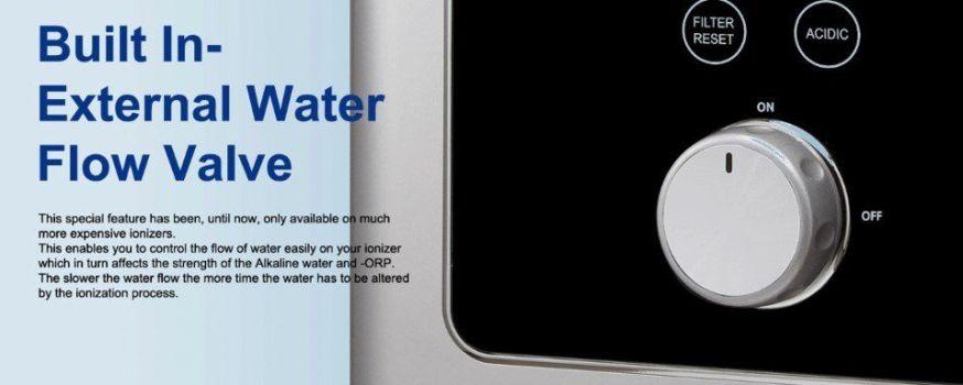 prime rv water ionizer water valve