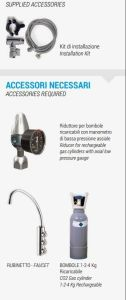 DANUBIO reverse osmosis water dispenser accesories