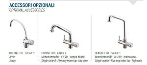 DANUBIO reverse osmosis water dispenser faucets