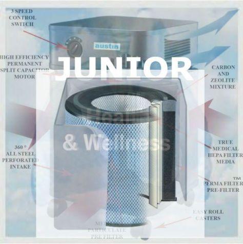 Healthmate-Austin-Air-Purifier-JUNIOR AIR FILTER