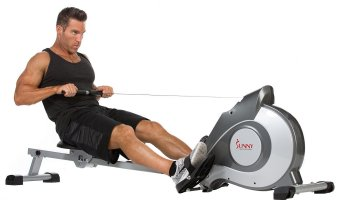 Sunny Health & Fitness Magnetic Rowing Machine SF-RW5515 Full Review
