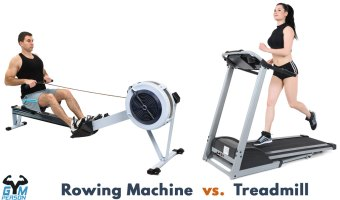 Treadmill Vs. Rowing Machine