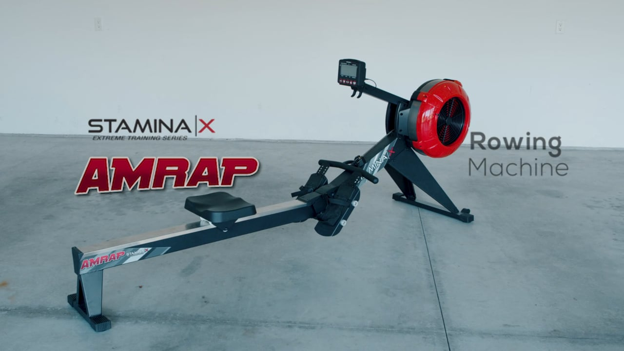 Stamina X amprap vs concept 2