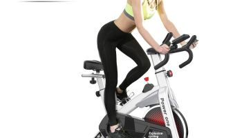 SNODE Indoor Cycling Spin Bike Trainer | Beginners, Obese & Heavy Person
