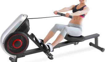 serenelife smart rowing machine