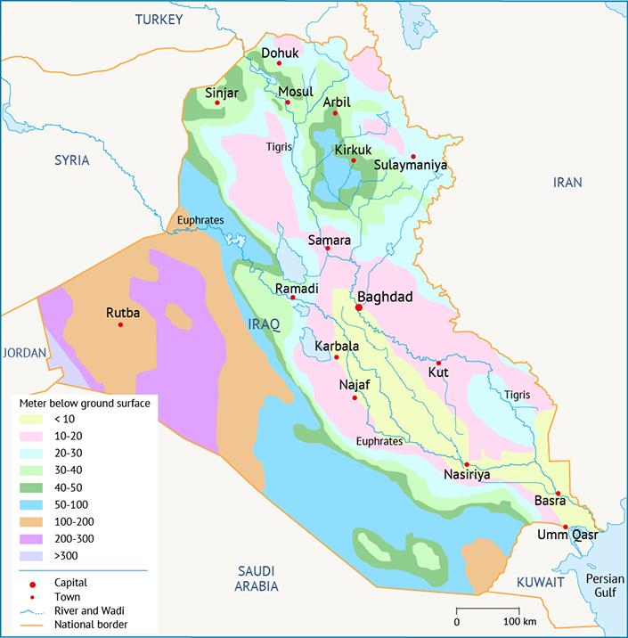 نوعية المياه في العراق Fanack المياه