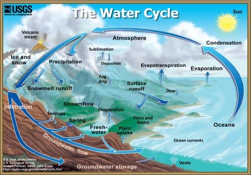 small resolution of  the water cycle in 60 languages download the diagram screen size