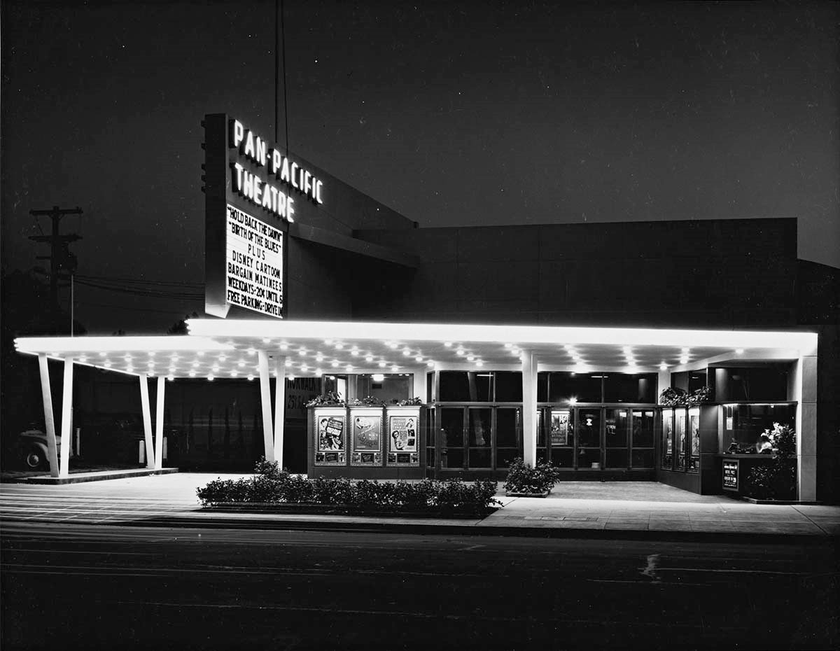 Image result for 1940s movie theater double feature