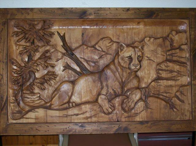 Wooden Carving Dengan Cat Kayu Warna Gloss