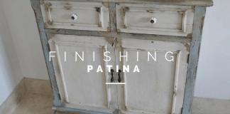 Finishing Patina Menggunakan Cat Kayu Water Based