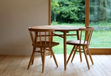 Mengintip Pembuatan Meja Bundar Ramah Lingkungan