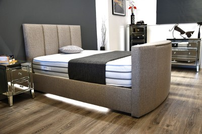 Apollo TV Waterbed With Mood Lighting