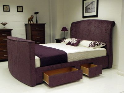 Avignon TV waterbed with drawers