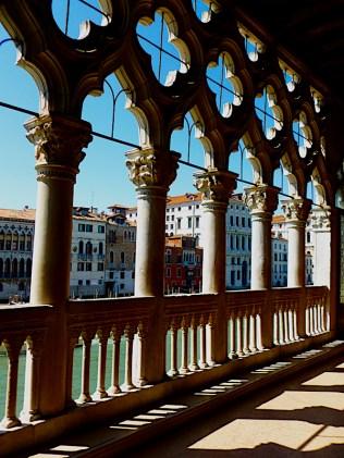 Ca d'oro balcony, Venice