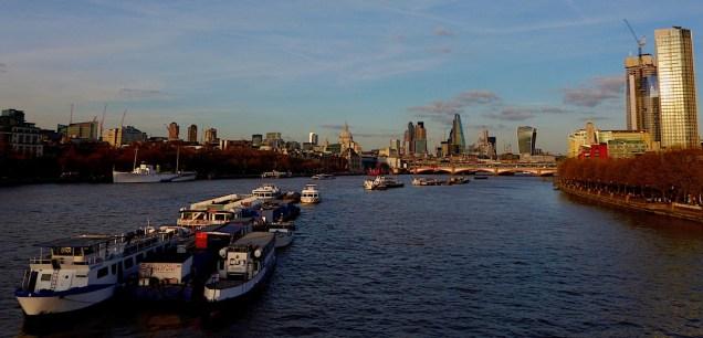 Thames sunset St Paul's P1030979