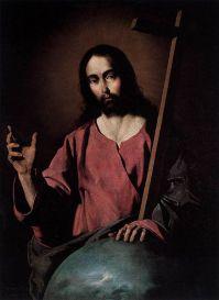 Christ Blessing, Museum of Prado