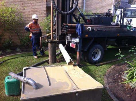 Applecross drilling a new water bore