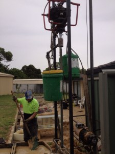 Water bore Perth limited access