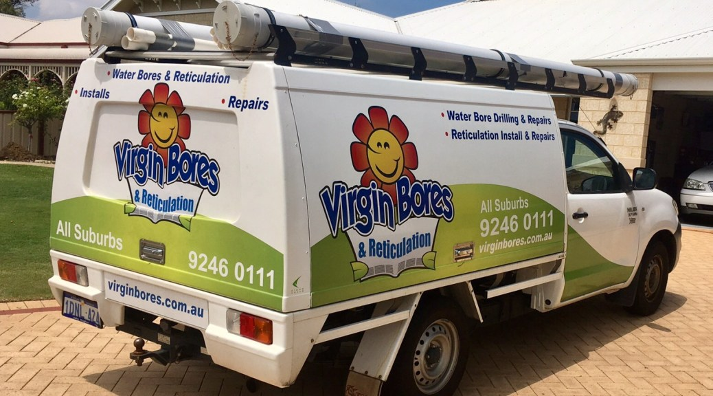 Water bore and reticulation service