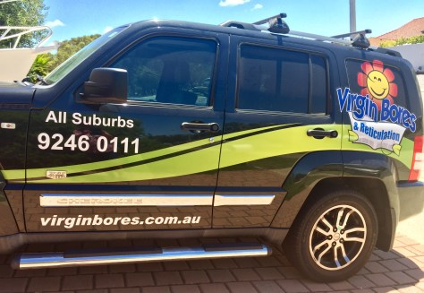 Virgin bores & reticulation all suburbs Perth