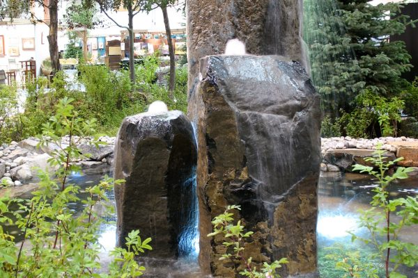bubbler water feature