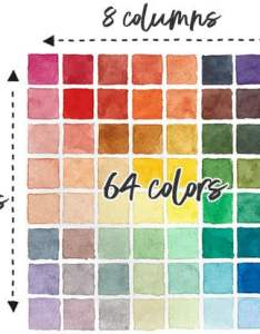Setup mixing chart also how to make  watercolor step by rh watercoloraffair